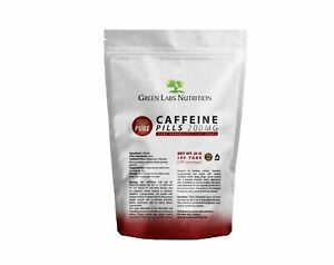 Caffeine 200 Tablets | Pharmaceutical Quality  | Energy |  Focus | Pre Workout