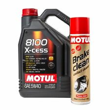 Motul 8100 X-Cess 5W40 High Performance Fully Synthetic Engine Oil - 5 Litres
