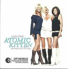 Atomic Kitten Feat.Kool & The Gang – Ladies Night  cd single in cardboard