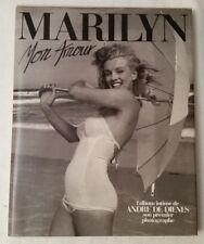 MARILYN MON AMOUR ALBUM INTIME DE ANDRE DE DIENES - FILIPACCHI ED. 1985
