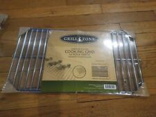 NEW Grill Zone Chrome Plated Cooking Grid Or Rock Grate Adjustable Fit Sm Grills