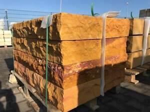 Blockstufe Sandstein, Sandsteintreppe 100 x 35 x 15 cm - ansehen!