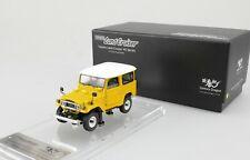 1:43 Toyota Land Cruiser LC BJ/FJ40 Series Century Dragon High-End Resin Yellow
