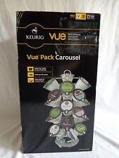 KEURIG VUE Pack Carousel Holds 24 Packs Spins New in Damaged Box