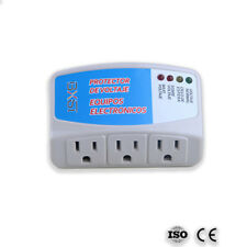 Voltage Surge Protector Refrigerator 1440 Watts Brownout Appliance Power Outlets