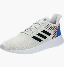 Adidas Asweerun men's shoes size 13 chalk white/legend ink/solar red EG3183