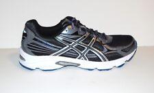 ASICS Gel Galaxy 5 Shoes 13 NIB Black Silver Blue Athletic Mens