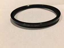 Pre-owned Bower Step-down Digital adapter ring 77mm-72mm
