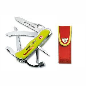 Victorinox Schweizer Taschenmesser Rescue Tool personalisiert mit Namen 0.8623