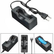3800mAH BRC 3.7v Rechargeable Blue Li-ion 18650 Battery Power EU Charger