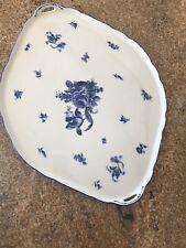 ANTIQUE LUDWIGSBURG PORCELAIN Blue White TRAY Tabletop Decor