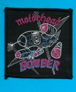 Motorhead Bomber vintage 1970s SEW ON PATCH