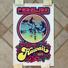 Pearl Jam Poster 12-02-06 Honolulu Ames Bros Mint Minus