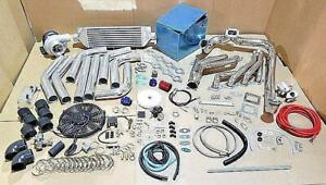 Single Turbo Kit Vortec v8 LSX LS1 LS2 LS3 LS6 LS7 Turbocharger T4 5.7 6.0 6.2