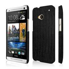 HTC One M7 Leather Case, EMPIRE KLIX Slim-Fit Hard Case for HTC One M7 - Black L