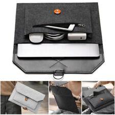 Laptop Sleeve Bag Case For Mac Book Air/ Pro Retina 11.6'' 12'' 13.3'' 15.4'' DC