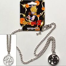 Dragon Ball DBZ Goku Symbol Metal Pendant Necklace Costume Cosplay LICENSED *NEW