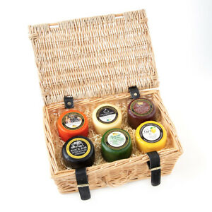 Cheshire Cheese Company No.1 Gift Box Selection-Wicker Basket Upgrade