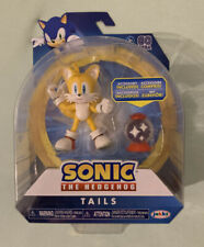 Sonic The Hedgehog Tails Bendable With Invisible Item Box Jakks New