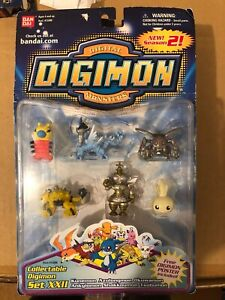 Bandai Digimon Collectable Mini Figures Set 22 NEW IN PACKAGE