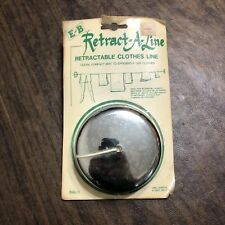 Vintage NOS Retract-A-Line Retractable Clothes Line E & B Manufacturing Bissell