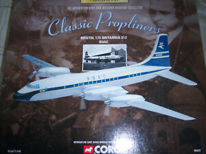 CORGI THE AVIATION ARCHIVE BRISTOL175  BRITANNIA 312 BOAC SEALED BOX