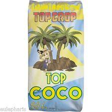 TOP COCO Sustrato TOP CROP Tierra 100% Fibra de Coco+Leonardita+Microorganismos