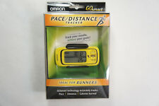 Omron Go Smart Pace / Distance Tracker HJA-301 Yellow New In Box