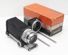 Schneider 135mm 4.5 Xenar Novoflex Bellows & COLEI Leica M39 ~ M42 Lens Adaptor