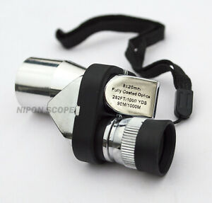 Japanese 8x20 monocular and 25x microscope 2 functions in 1. Good gift for kids