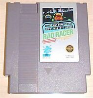 Rad Racer Racing 1 one Nintendo NES 1987 played once good label