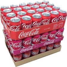 Coca Cola Original, Coca Cola Cherry & Dr. Pepper je 24x0,33l Dosen XXL-Paket
