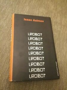 I, Robot by Isaac Asimov (Hardback book 1974 second impression) dobson sci-fi