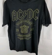 AC/DC Mens T Shirt Size Medium Dirty Deeds Done Dirt Cheap AC DC Med