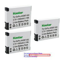 Kastar Replacement Battery for AHDBT 001 AHDBT 002 & Gopro HD Motorsports HERO
