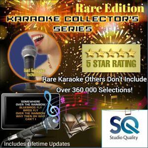 Karaoke USB 2TB Hard Drive 360,000 All Styles Songs CDG+MP3 Studio Quality