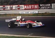 Fotografía de Mark Donohue, Penske 9x6 - 751 de marzo, Alemán GP NURBURGRING 1975