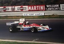 9x6 Photograph Mark Donohue ,Penske-March 751 , German GP Nurburgring 1975