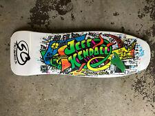 Santa Cruz Jeff Kendall Graffiti Old School Reissue Skateboard Deck
