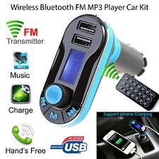 BT66 Wireless Bluetooth Car Kit FM Transmitter MP3 Music Player 2 USB Ports