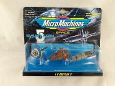 More details for babylon 5 micro machines set 6  scale miniatures galoob