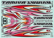 Tamiya RC Model Hop-up Tribal Flame Marking Sticker 53840