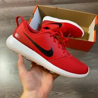 NIKE ROSHE G WHITE RED GOLF TRAINERS SHOES SIZE UK10 US11 EUR45 CD6065-600