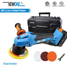 NEWONE 20V Li-ion 5 inch 125mm Orbital Dual Action Polisher With Variable speed