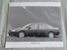 Peugeot 605 Press Photo c1990's v5