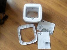 Petsafe  Microchip Cat Flap White Easy to Program Door with 4 way lock.