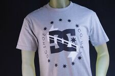 DC SHOES GRAY MENS GRAPHIC T-SHIRT W/ BLACK/WHITE GRAPHICS size Large