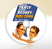 Boys Town (1938) DVD Classic Drama Movie / Film Spencer Tracy Mickey Rooney