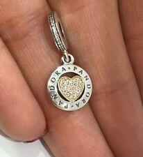 Genuine Pandora Bead/Charm Signature Heart Brand 792082CZ