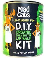 Mad Gab's Do It Yourself Organic Shea Butter Lip Balm Kit